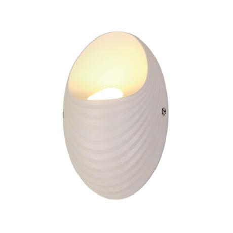 Elmark SHELL LED fali lámpa 5W 4000K  fehér IP40 955SHELL1W/WH