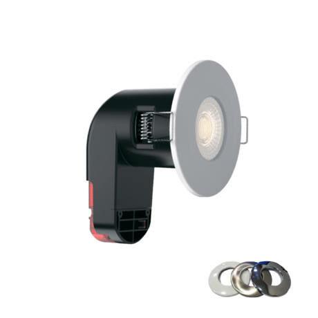 Optonica tűzbiztos álmenny. beép. LED spot lámpa 6W 2700K 5041