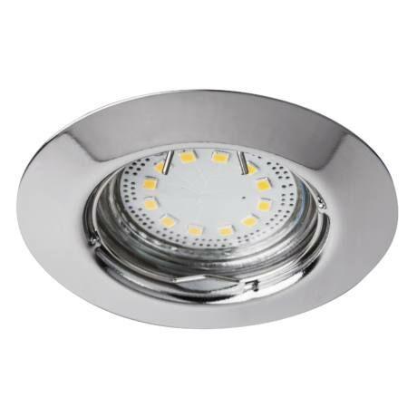 R.1047 Lite kör spot fix GU10 LED 3x3W króm