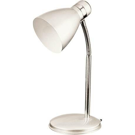 R.4205 Patric asztali lámpa E14 40W, fehér