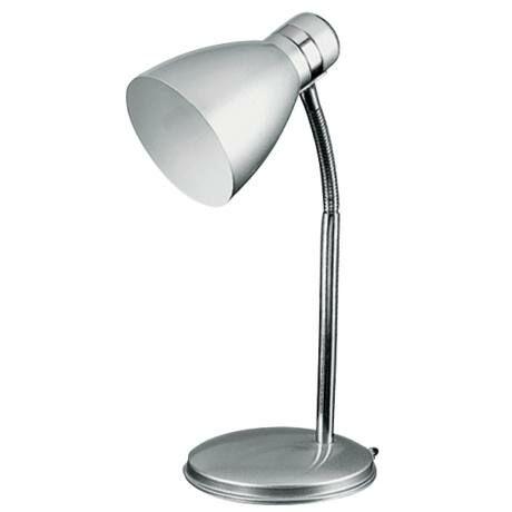 R.4206 Patric asztali lámpa E14 40W, ezüst