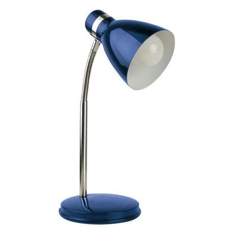 R.4207 Patric asztali lámpa E14 40W, kék