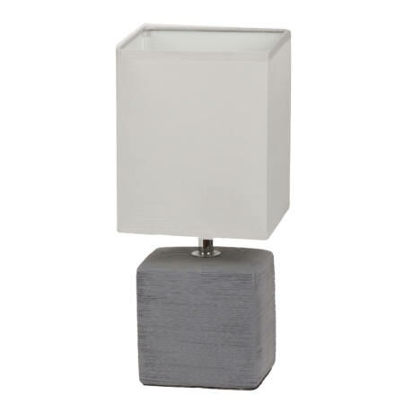 R.4458 Orlando asztali lámpa E14 max40W szürke