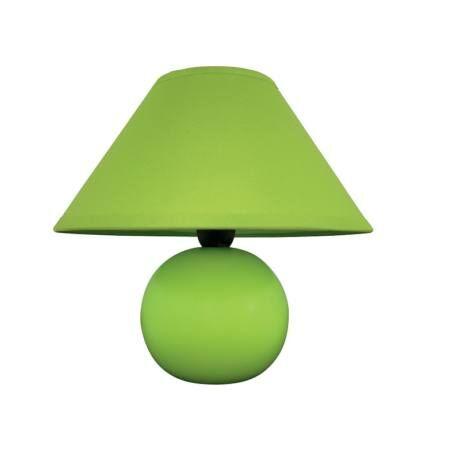 R.4907 Ariel kerámia asztali E14 40W, zöld
