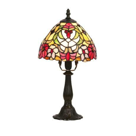 R.8089 Mirella asztali lámpa E14 40W tiffany