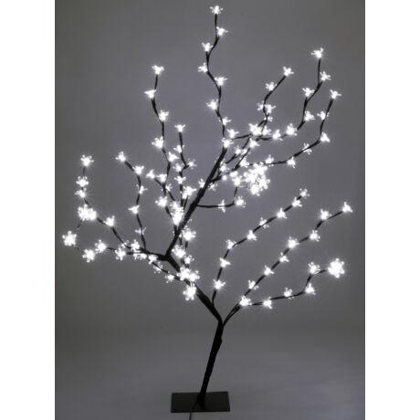 Somogyi LED-es cseresznyefa dekoráció adapterrel ellátva, 1m, 230V CBT 128