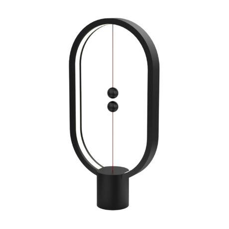 Somogyi Golyós LED asztali lámpa lebegő-kapcsolós hangulatfény fekete DH0040BK/HBLEUB