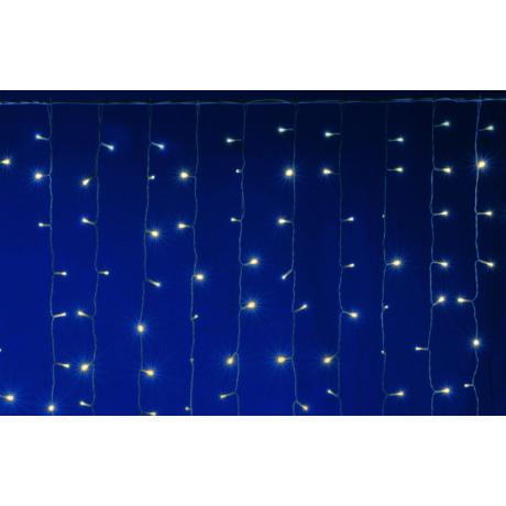 Somogyi LED-es 400 db sorolható fényfüggöny meleg fehér IP44 2m DLF 400/WW