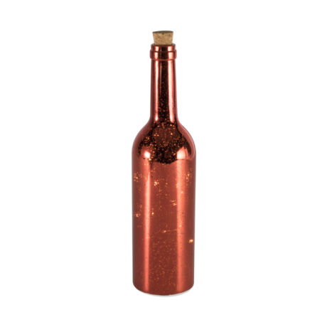 Somogyi  LED-es üvegpalack dekoráció piros GB 31/RD
