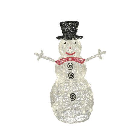 Somogyi LED hóember karácsonyi dekoráció akril KDA 9