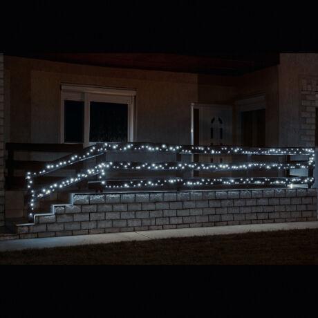 Somogyi  hideg fehér fényű LED-es izzósor, 14m, IP44 230V KKL 200C/WH