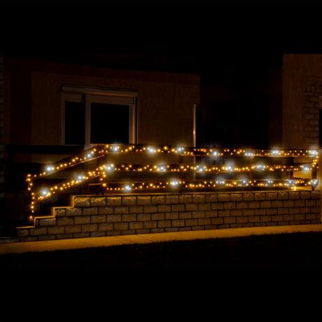 Somogyi LED-es sziporkázó fényfüzér 500 db melegfehér állófényű LED KKL 500F/WH