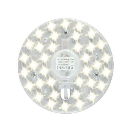 Somogyi LED MODUL 14W 1232lm 2800K 230V mágnesezhető lámpatesthez LM 14/155M
