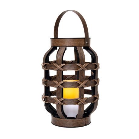 Lámpás LED gyertyával dekorációs LTN 21 Somogyi