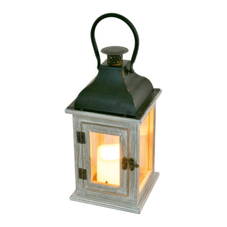 Somogyi LED-es lámpás, fa, 4,5V LTN 7