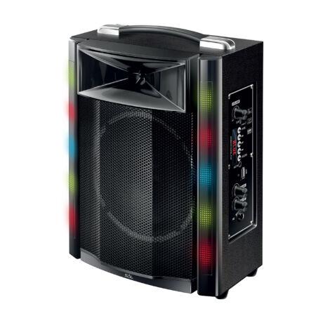 Somogyi Home Hordozható party hangdoboz, beépített akkumulátorral és LED fénnyel PAR 16BT