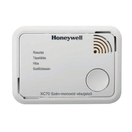 Honeywell szén-monoxid érzékelő riasztó vészjelző 7 év garancia XC70-HU-A