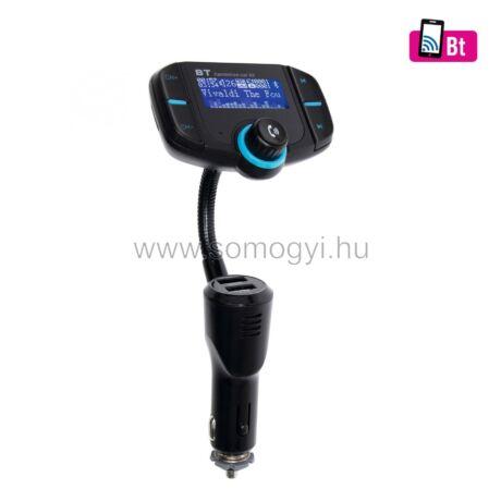 8in1 telefon-kihangosító és BT-FM modulátor Somogyi FMBT XPRO
