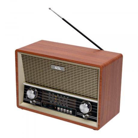 Retro asztali rádió és multimédia lejátszó RRT 4B Somogyi