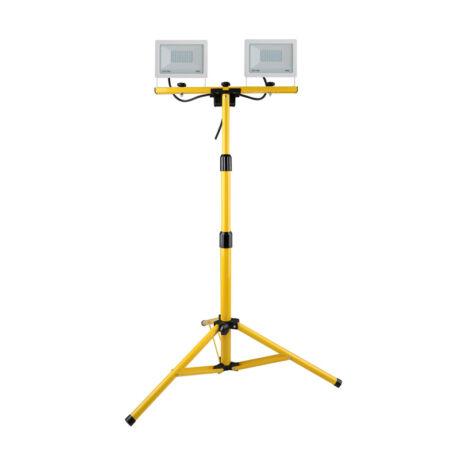 Steck állványos LED reflektor 2x30W 4000K természetes fehér 4800 lumen IP65 SLF 302W