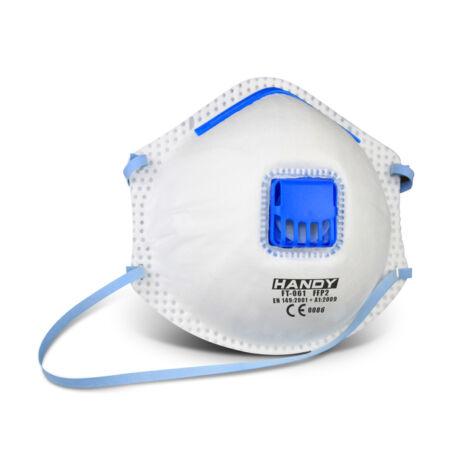 Handy szelepes szájmaszk 2db/csomag porvédő 10391-2 FFP2-es védelmi szinttel ellátott