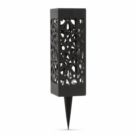 Leszúrható szolár lámpatest design fekete színű napelem - 1.2 V, 200 mAh Ni-MH AAA akkumulátor 19x6,2 11378