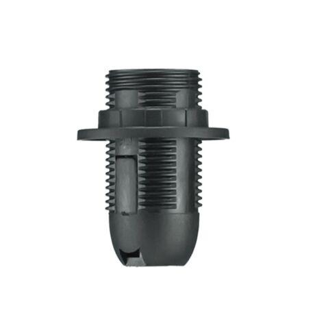 Pawbol műanyag csillárfoglalat E14-303 fekete D.3027