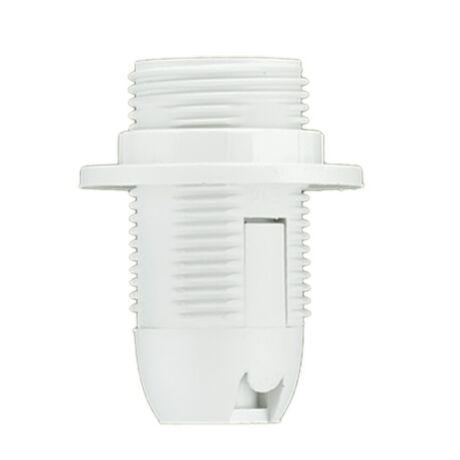 Pawbol műanyag csillárfoglalat E14-303 fehér D.3027B