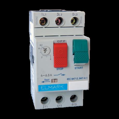 Elmark kézi működésű motorvédő kapcsoló TM3-E63 40-63A 48063