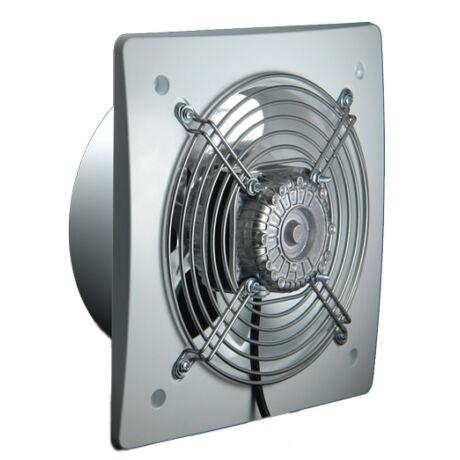 D 200 Ipari axiális fali elszívó ventilátor 450m3/h