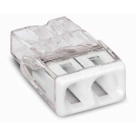 Wago vezetékösszekötő 2-es 2x0,5-2,5mm2 100db/csomag 2273-202 Új