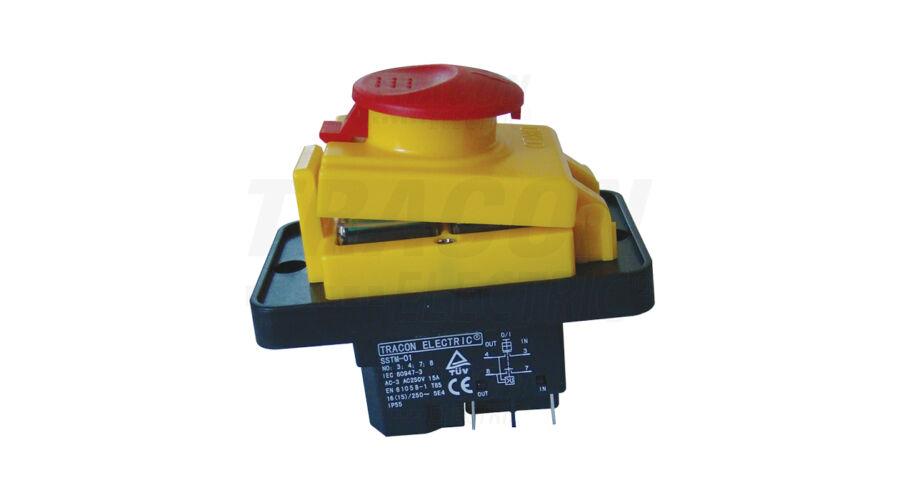 Tracon relés biztonsági kapcsoló gombafejű reteszeléssel SSTM-01 ... 831e8c01e4