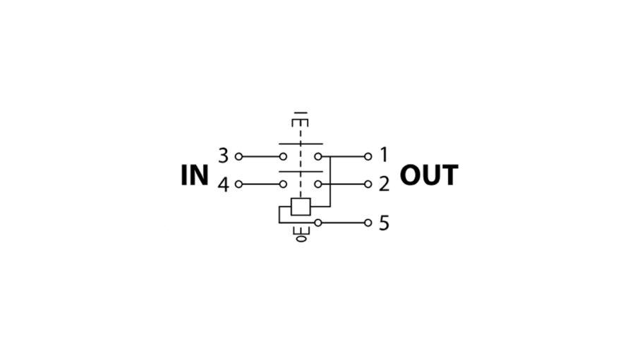 Tracon bepattintható relés biztonsági kapcsoló fekete kerettel SSTM ... d54de9ac73